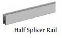Half Splicer Rails for Slotwall