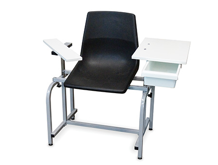2196 Blood Draw Chair With Supply Drawer