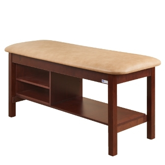 300 Classic Flat Top Table With Shelves