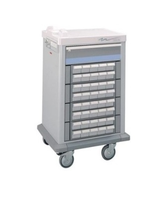 40-Bin-Compact-Cassette-Medication-Cart