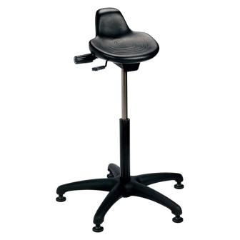 Brewer Sit Stand Series Black ABS Base