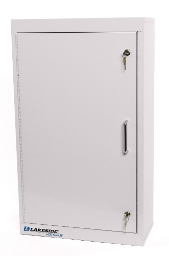LNC 2 Single Door Double Lock Narcotics Cabinet