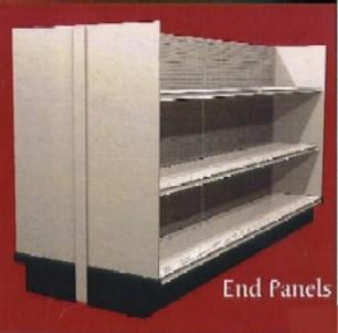 Melamine End Panel » RXShelving