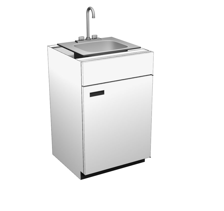 Pharmacy Sink Unit Lozier