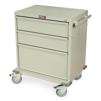 RRC334SD QL rapid response medical cart three drawer