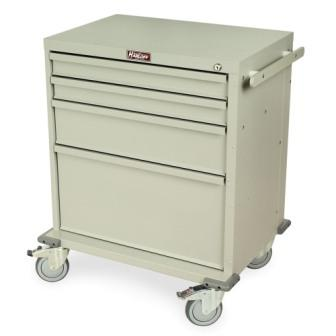 RRC344SD QL rapid response medical cart