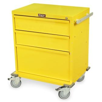 RRC344YL covid 19 rapid response cart new