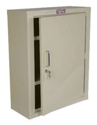 Single-Door-Single-Lock-Narcotics-Cabinet