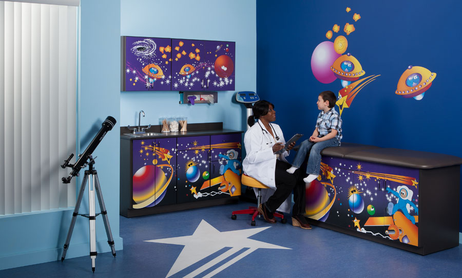 Space Place Complete Pediatric Exam Room
