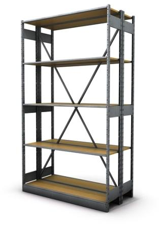 Lozier S-Series Storage Shelving