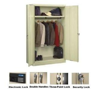 Jumbo Wardrobe Cabinets: Three Point Lock