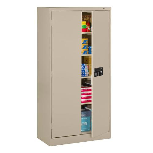 Welded-Storage-Cabinet-with-Keypad-Lock