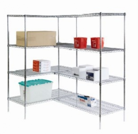 Stationary Wire Shelving