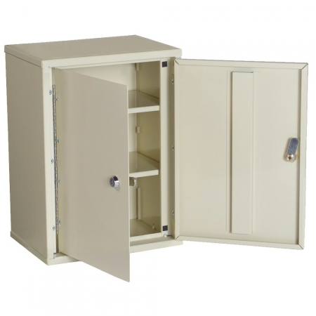 2802AQ double lock narcotics cabinet open