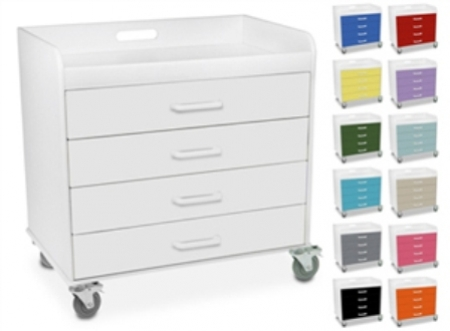 51041FAMILY-1-Polyethylene-Extra-Wide-Compact-Locking-4-Drawer-Cart