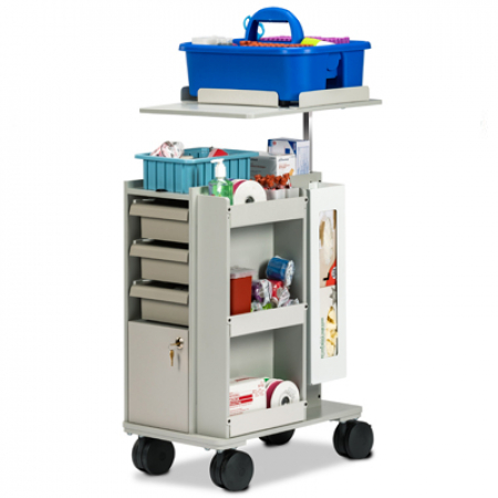 67032 Store And Go Phlebotomy Cart