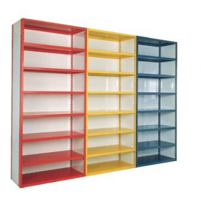 Closed Iron Grip Shelving