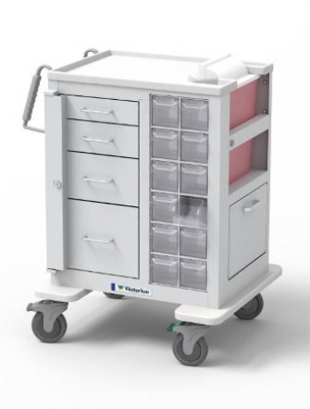 Phlebotomy-Specimen-Collection-Cart