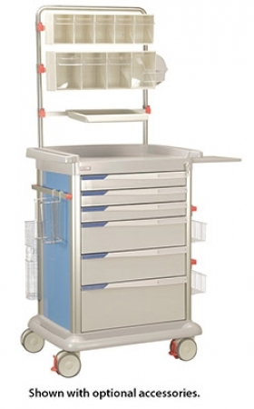 Preciso Medical Supply Carts