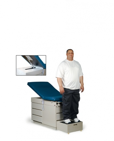 X L Power Back Exam Table