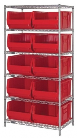 wr6-954-Wire-Shelving-Unit