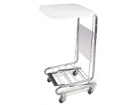 Mobile Hamper Stand