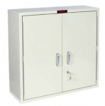 Double Door - Single Lock Medicine Cabinet