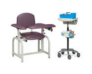 Phlebotomy Chair and Cart Bundle