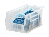 Clear-View Ultra Stack And Hang Bins