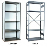 Medium Duty V-Grip Shelving