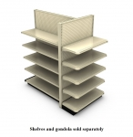 Contoured Wall End Display Units