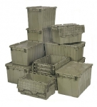 Heavy Duty Containers with Attached Top