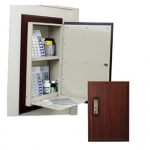 In-Wall Medication Cabinet - Electronic Lock