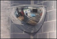Security Mirror Quarter Dome