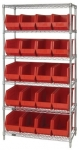 WR6-265 Wire Shelving & Bin Systems