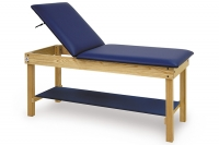 Treatment Table with Backrest & Shelf