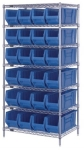 WR7-951 Wire Shelving Unit